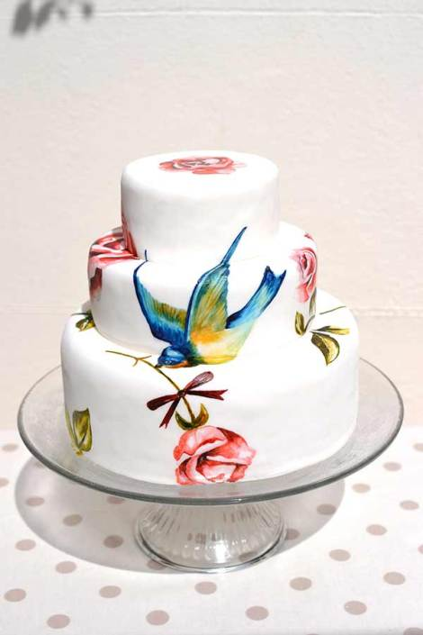 MurrayMe-painted-wedding-cake-brighton-bird-mangiabeneblog