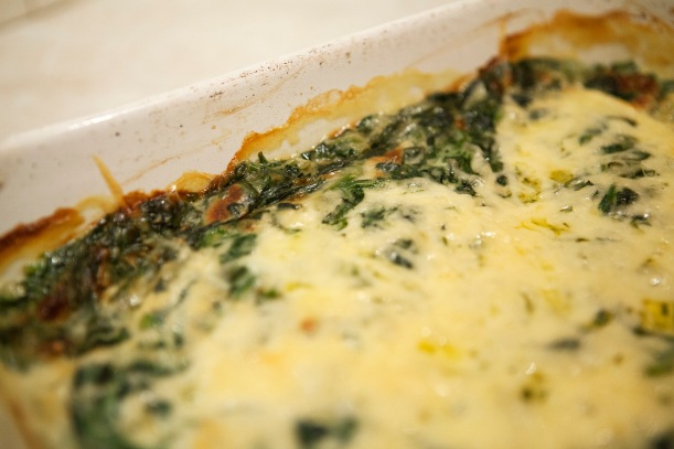 Spinach-and-eggs
