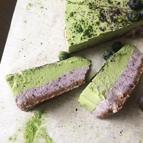 matcha-cheesecake